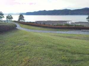 お散歩やランニングに最適、御所湖手つなぎ広場と周辺。