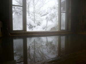 ペンション 草原の風:冬はやっぱり温泉。スキーで疲れた体を天然温泉で癒して下さい。
