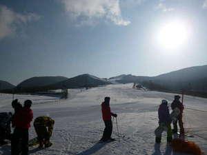 ペンション 草原の風:九重森林スキー場でスキーやスノボーを楽しんで下さ~い♪