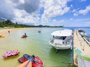 沖縄かりゆしビーチリゾート・オーシャンスパ:かりゆしビーチで様々なアクティビティを体感してみよう!