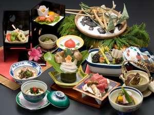 下呂温泉 湯之島館:グレードアップ料理イメージ