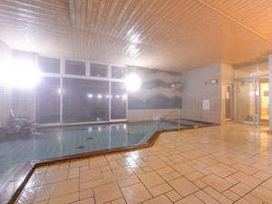 がまの湯温泉 いいで旅館:*大浴場/赤ちゃんからお年寄りまで楽しめる湯あたりの少ない泉質。