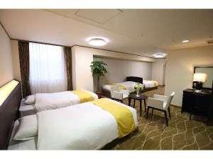 ホテルアウィーナ大阪:【デラックスファミリールーム】2015年ニューオープン!大人数でもご利用しやすいお部屋タイプです。