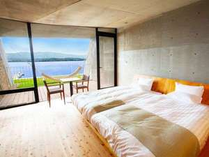 SETRE MARINA BIWAKO(セトレ マリーナびわ湖):【2F:ゲストルーム】パノラマ琵琶湖ビューとハンモックに揺られる贅沢な時間