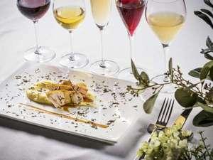 SETRE MARINA BIWAKO(セトレ マリーナびわ湖):お食事1品1品に合わせたペアリングのワインや日本酒が楽しめる2食プランが当ホテルのおススメ