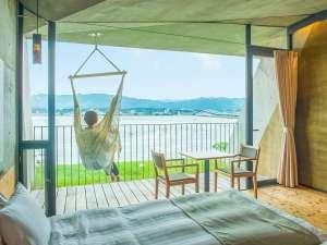 SETRE MARINA BIWAKO(セトレ マリーナびわ湖):【3F:ゲストルーム】パノラマ琵琶湖ビューとチェアハンモックに揺られる贅沢な時間