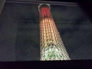 ホテルリブマックス浅草スカイフロント:スカイビュールームからの眺め