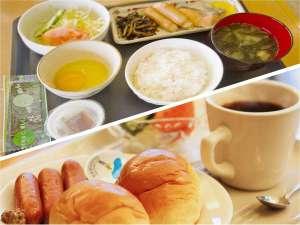 ビジネスホテルボストン:【おかずも全ておかわり自由!無料の和洋朝食】米、味噌、卵、野菜など出来る限り地元大分の食材を使用。