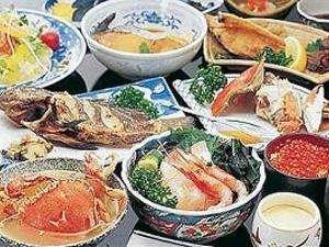 福宝館 漁師の宿:春の地魚&蟹プラン