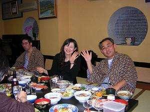 福宝館 漁師の宿:食事模様