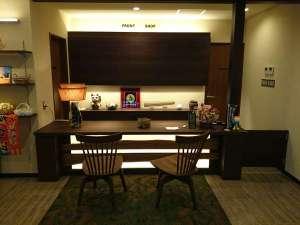 気仙沼大島 旅館 明海荘:フロント