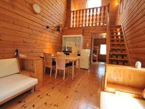 多々良木フォレストリゾートCoCoDe:ログハウス 室内