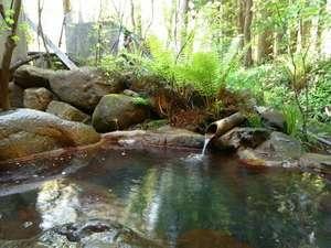 奥飛騨山荘 のりくら一休:露天風呂で四季折々の自然をお楽しみください。