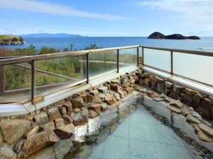 絹島温泉 ベッセルおおちの湯:◆【露天風呂】瀬戸内海を望む自慢の絶景露天風呂をお楽しみください。