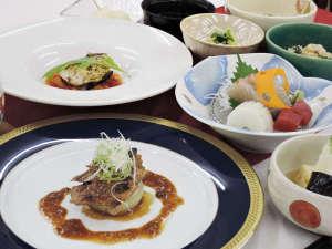 山荘やなはら:*【会席料理一例】内容は当日のお楽しみ♪シェフが心を込めておもてなしさせていただきます