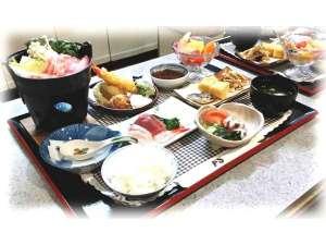 リゾートホテル ホワイトハウス:食事つきプランのお食事内容