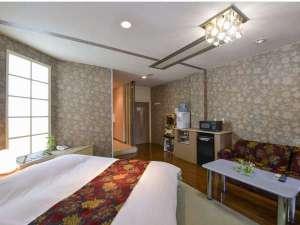 リゾートホテル ホワイトハウス:105号室【露天風呂付】