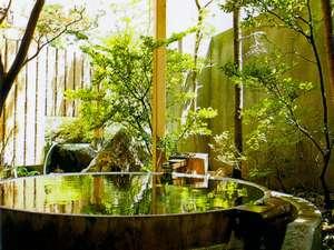 月岡温泉広瀬館 ひてんの音:【貸切露天風呂】40分間無料で楽しめます。