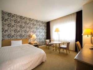 サザンシティホテル:18㎡ 140㎝幅の広々ベッドシングルルーム