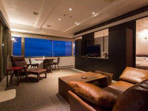 ホテルうみね:最大90平米の客室。各部屋趣が異なり、特別な時間をお過ごし頂けます