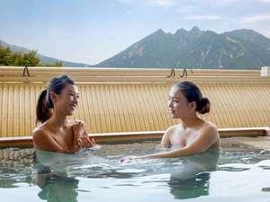 休暇村南阿蘇:アルカリ性単純泉が気持ちいい~!あれ?入っているだけでお肌がすべすべになっている?綺麗になったかも?