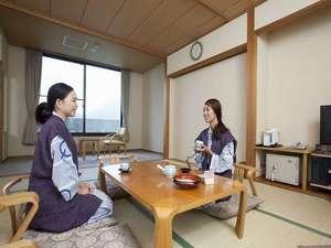 休暇村南阿蘇:温泉なら、やっぱり和室だね!広いし、ゆっくりできるよ。