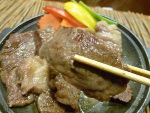 B級グルメを味わう★「せんべい汁」と十和田高原ポークの陶板焼きプラン