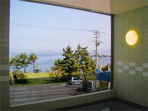 越前 浜茄子:お風呂からは日本海を眺めれます☆