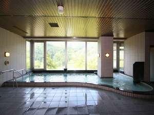 富山の奥座敷 薬師岳の湯 白樺ハイツ:源泉100%掛け流しの内湯