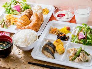 スーパーホテル奈良・大和郡山 天然温泉 湯元大納言秀長の湯:【焼き立てパン朝食無料】たくさん召し上がれ♪