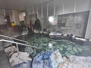 くしろ湿原パーク憩の家 かや沼:【温泉】お肌がすべすべになると好評の岩風呂
