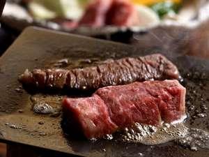 食欲をそそる肥後牛ステーキのくわ焼き