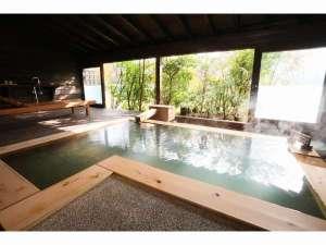 ふもと旅館別邸 こうの湯:離れ平屋和洋室タイプのお風呂(一例)