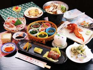 高繁旅館:【グレードアップ】岩手名物『キンキ』の姿焼き付贅沢なコース。旬の天ぷらもこのコースの特権