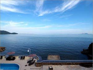 リブマックスリゾート瀬戸内シーフロント:【景色】瀬戸内海の絶景を見渡せる客室からの眺め