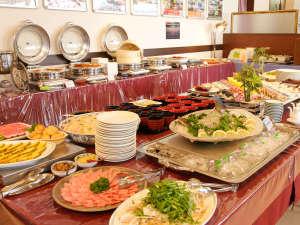 リブマックスリゾート瀬戸内シーフロント:夕食ビュッフェ