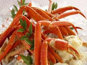 リブマックスリゾート瀬戸内シーフロント:茹ズワイガニ を お一人当たり500グラム!満腹プラン