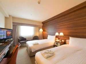 ホテルWBF札幌ノースゲート(旧ホテルノースゲート札幌):23平米広々ツインルーム(デラックスフロア一例)