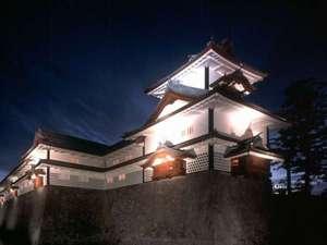 金沢ニューグランドホテルアネックス:夜の金沢城厳格だけど落ち着く空間です。