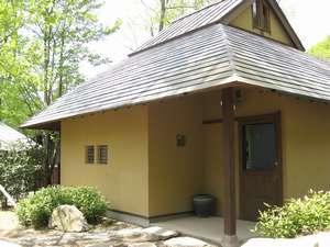 B・B・C長湯 長期滞在施設と林の中の小さな図書館