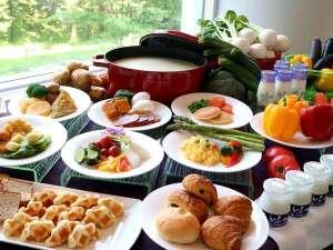 新富良野プリンスホテル:朝食ブッフェイメージ