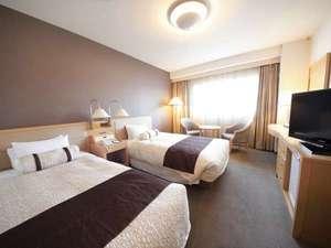 客室例(狩野川側ツインルーム)