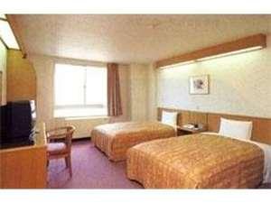 ホテル 久喜:1名様でも御利用出来る、ゆったりツインルーム