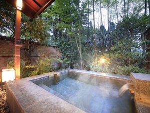 四季を愉しむ貸切温泉 ゆとりろ庵:ゆとりろ庵の目玉◆4種類の貸切温泉露天風呂