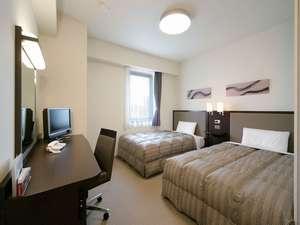 コンフォートホテル富山駅前:ツインエコノミー■123cm幅ベッド×2台(19平米)