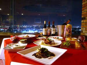 旭川パークホテル:『ロマンティックな夜景と共にお食事を、、、』