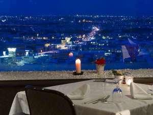 旭川パークホテル:7Fレストラン「ルミネ」です。ゆっくりとお食事と夜景をお楽しみ下さい♪