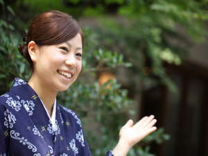 椎葉山荘:椎葉山荘は、自然とスタッフの笑顔が自慢です。