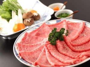 椎葉山荘:強肴:大正屋特選牛しゃぶ鍋