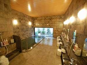 ホテルルートイン彦根:男女別ラジウム人工温泉大浴場☆夜は2時迄、朝は5時から利用できます。写真は男性用